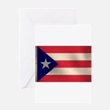 Puerto Rican Flag Greeting Card