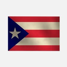 Puerto Rican Flag Rectangle Magnet