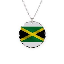 Jamaican Flag Necklace