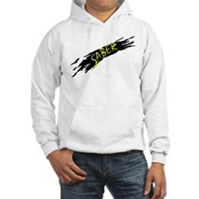 Saber Black Jumper Hoody