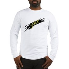 Saber Black Long Sleeve T-Shirt