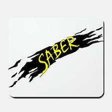 Saber Black Mousepad