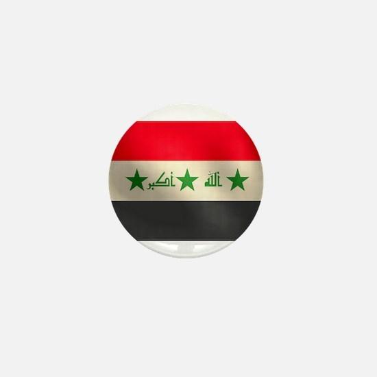Iraqi Flag Mini Button