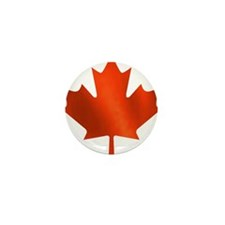 Canadian Maple Leaf Mini Button (100 pack)