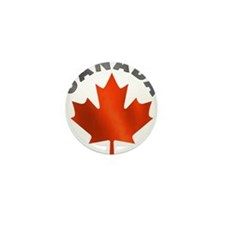 Canadian Maple Leaf Mini Button (10 pack)