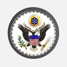 U.S. Seal Wall Clock