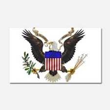 Great Seal Eagle Car Magnet 20 x 12