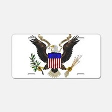 Great Seal Eagle Aluminum License Plate