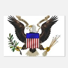 Great Seal Eagle Postcards (Package of 8)