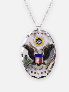 Unique Emblem Necklace