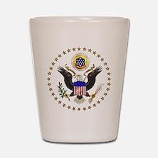 U.S. Seal Shot Glass