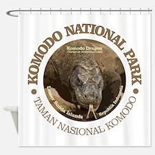 Komodo National Park Shower Curtain