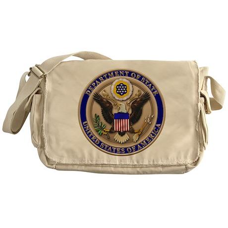 State Dept. Seal Messenger Bag