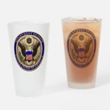 State Dept. Seal Drinking Glass