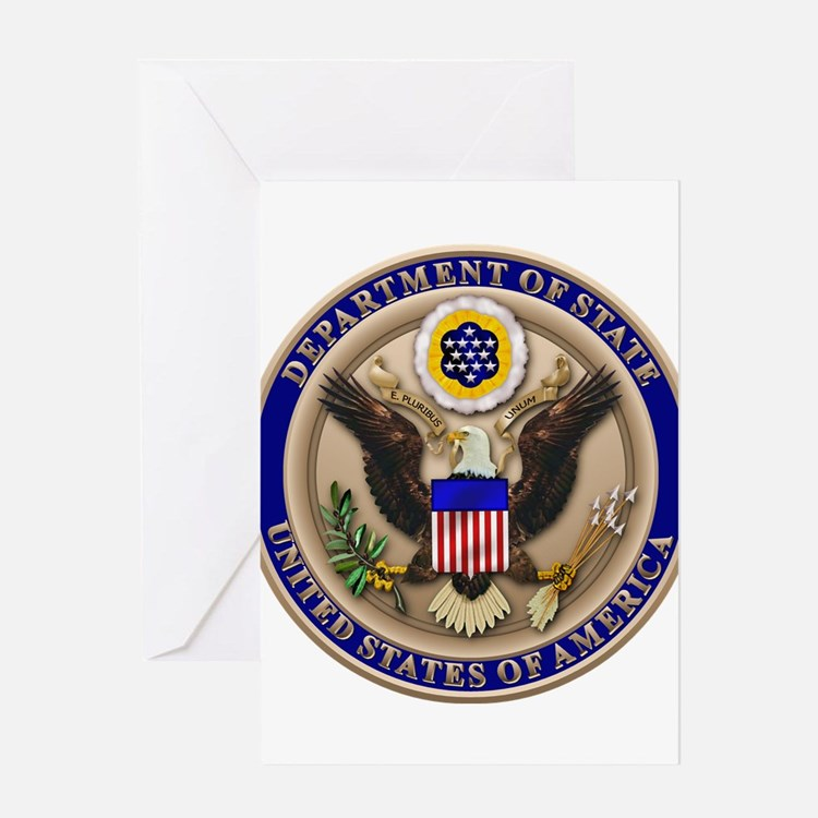 State Dept. Seal Greeting Card