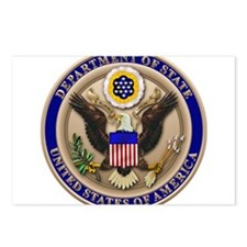 State Dept. Seal Postcards (Package of 8)