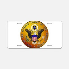 US Supreme Court Aluminum License Plate