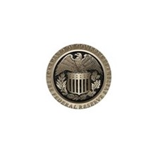 The Federal Reserve Mini Button (10 pack)
