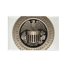 The Federal Reserve Rectangle Magnet