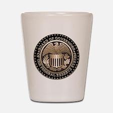 Federal Reserve Shot Glass