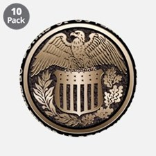 "Federal Reserve 3.5"" Button (10 pack)"