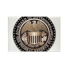Federal Reserve Rectangle Magnet
