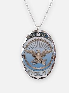D.O.D. Necklace Oval Charm