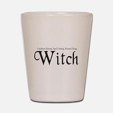Witch Shot Glass