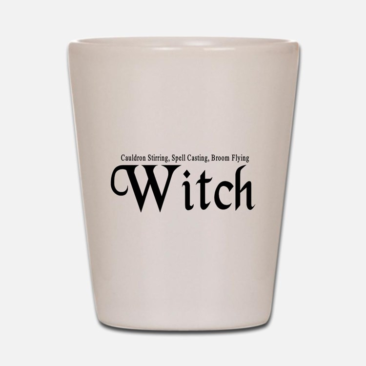 Witch Shot Glass