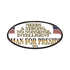 A Woman For President Patches