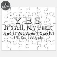My Fault Puzzle