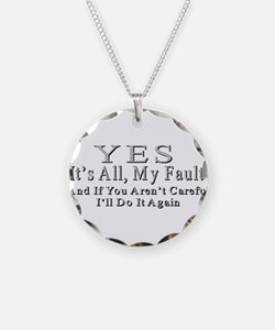 My Fault Necklace