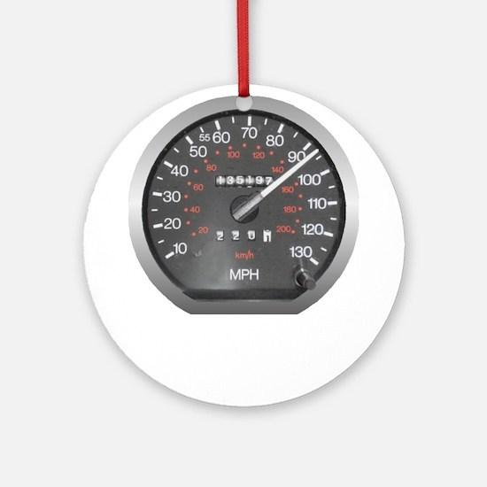 90 mph Ornament (Round)