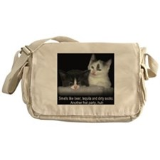 Frat Cat Messenger Bag