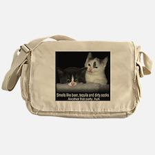 Frat Cat Messenger Bag