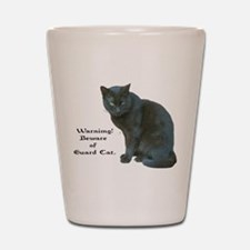 Guard Cat Shot Glass