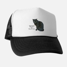 Guard Cat Trucker Hat