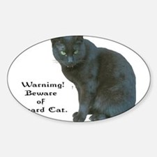 Guard Cat Decal
