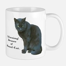 Guard Cat Small Small Mug