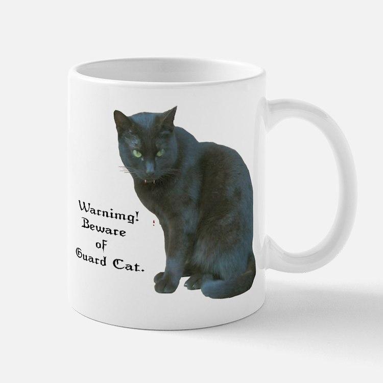 Guard Cat Small Small Mug