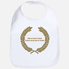 Back to School Bib