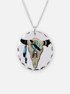 Steer Skull Necklace