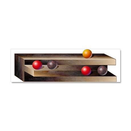 Optical Shelves Car Magnet 10 x 3