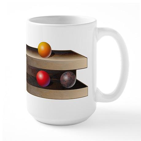 Optical Shelves Large Mug