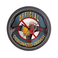 Designated Driver Wall Clock