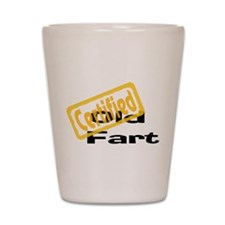 Certified Old Fart Shot Glass