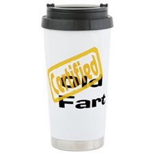 Certified Old Fart Travel Mug