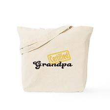 Certified Grandpa Tote Bag