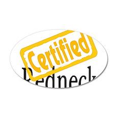 Certified RedNeck 22x14 Oval Wall Peel