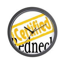 Certified RedNeck Wall Clock